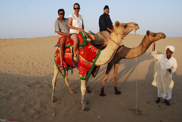 At the Sand Dunes Jaisalmer