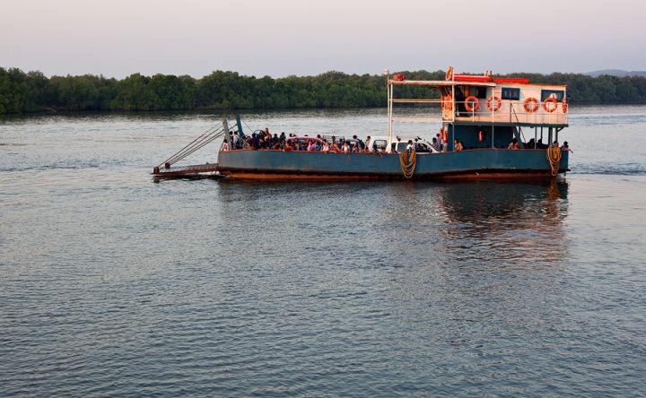 Old Goa to Divar ferry