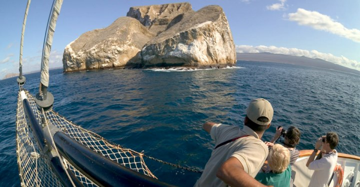 Galapagos-Kayaking-6-boat-island