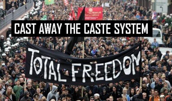 no-to-caste-system