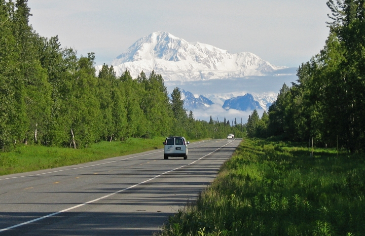 Denali from the Parks Highway, Credit Aneta Synan, ADOT&PF, 2006