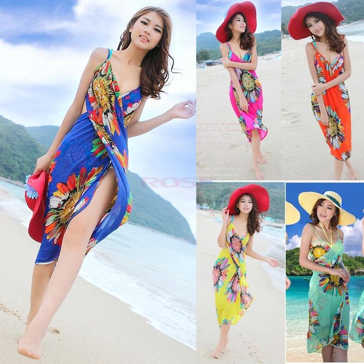 Summer-2015-Women-Casual-Deep-V-Wrap-Dresses-Bohemian-roupas-Sexy-Women-s-Beach-Dress-Chiffon